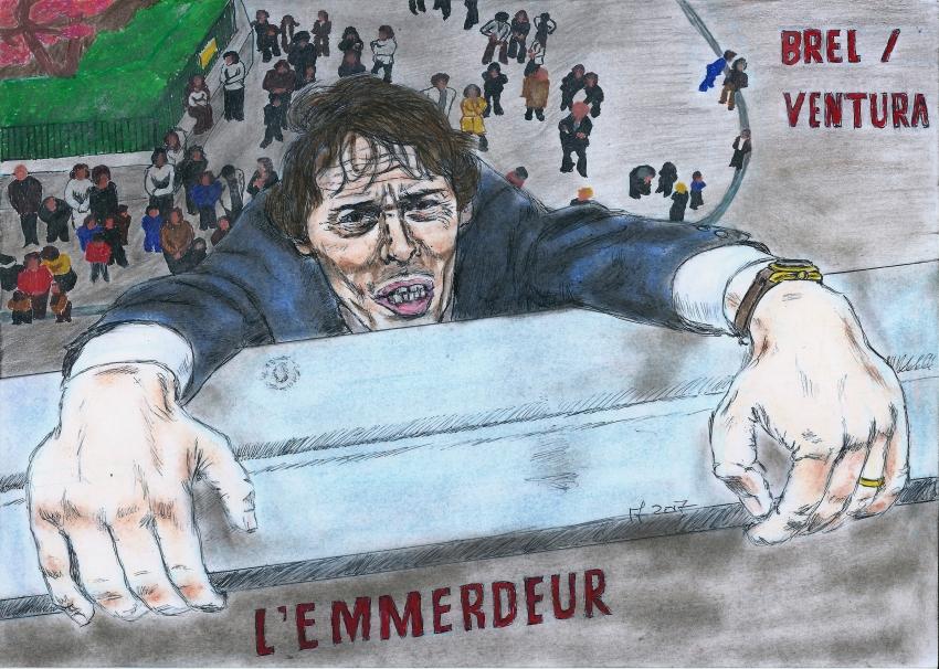 Jacques Brel by Vanessafari